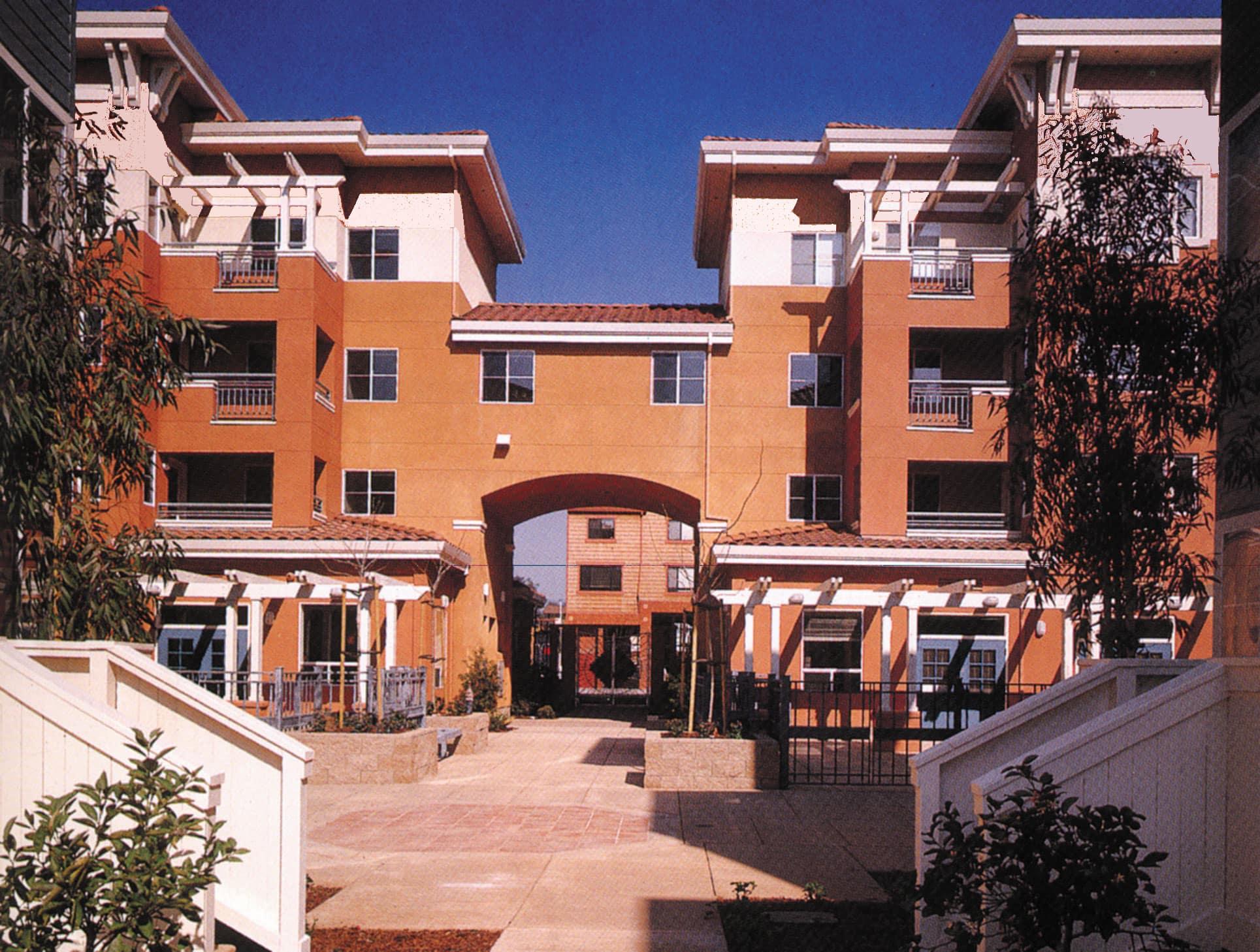 San Antonio Terrace Court Yard View