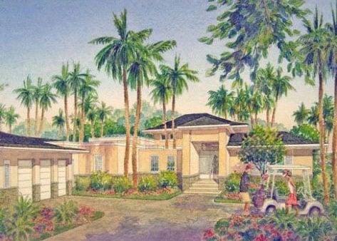 Bahia Beach House III Front Perspective