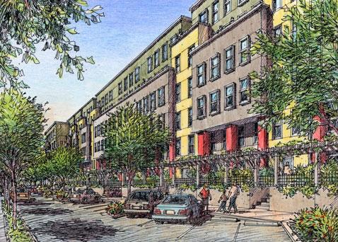 Dorado Courtyard view from Street