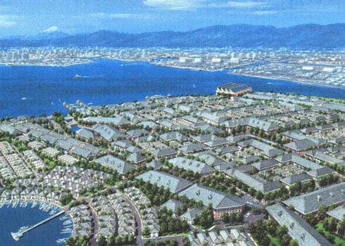 Kehin New Town Aerial