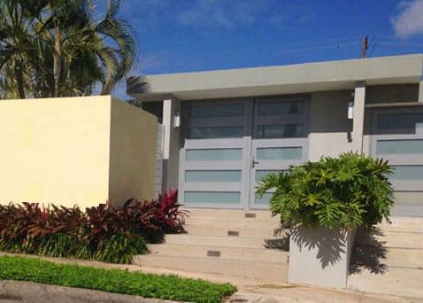 San Juan House III Entry